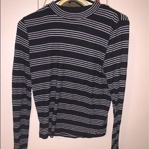 Juniors Striped Sweater